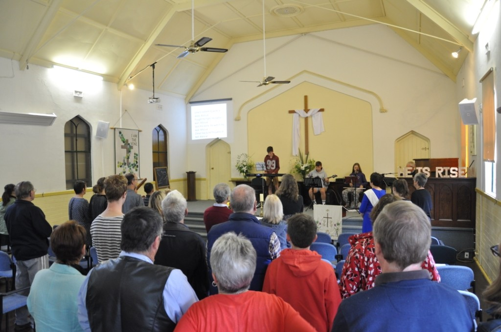 Our Easter Sunday service